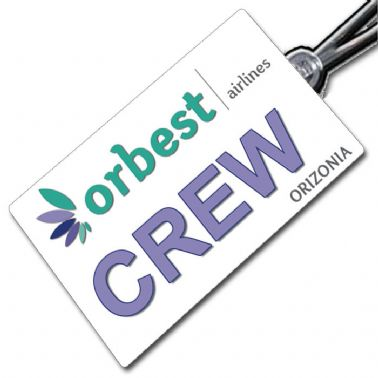 Orbest Airlines Tag